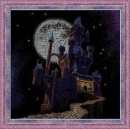 """Набор для вышивания 1084 """"Таинственный замок"""" 45х45см"""