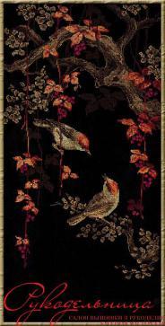 """Набор для вышивания 1063 """"Райские птички"""" 30х60см"""