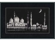 """Набор для вышивания ВС-004 """"Мечеть шейха Заида"""" 27,4х51,3см"""