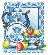 """Набор для вышивания ГФ-271 """"Наливные яблочки"""" 26х28,5см"""