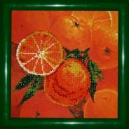 "Набор для вышивания Р-002 "" Апельсины"" 20х20см"