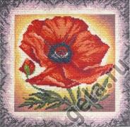 "Набор для вышивания 04.008.05 ""Цветок грез"" 23х23см"