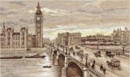 """Набор для вышивания ГМ-1254 """"Лондон. Вестминстерский мост"""" 38х25"""
