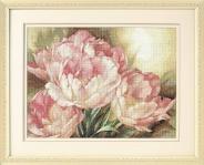 """Набор для вышивания 35175 """"Трио тюльпанов"""" 30х41см"""