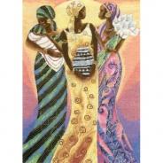 """Набор для вышивания 5678-1183 """"Сестры солнца"""" 40х28,5см"""