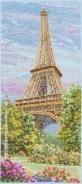 """Набор для вышивания РСЕ0800 """"Эйфелева башня"""" 32х14см"""