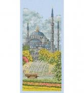 """Набор для вышивания РСЕ0801 """"Голубая мечеть"""" 32х14см"""