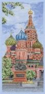 """Набор для вышивания РСЕ0805 """"Кремль"""" 32х14см"""