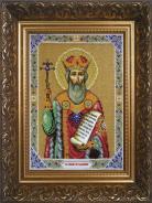"Набор с бисером Б1008 ""Св.Равноап.князь.Владимир"" 25х20см"