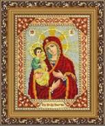 "Набор с бисером Б1016 ""Богородица Троеручица """