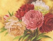 """Набор для вышивания 144534 """"Розы"""" 36х28см"""