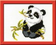 """Набор для вышивания НВ-061 """"Панда""""18х15см"""