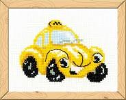 """Набор для вышивания НВ-107 """"Такси"""" 13х16 см"""