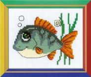 """Набор для вышивания НВ-139 """"Рыбка с улыбкой"""" 16х13см"""
