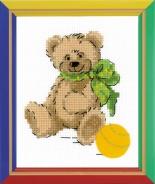 """Набор для вышивания НВ-149 """"Медвежонок"""" 13х16см"""