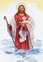 """Набор для вышивания 4-03 """"Христос"""" 32х45см"""